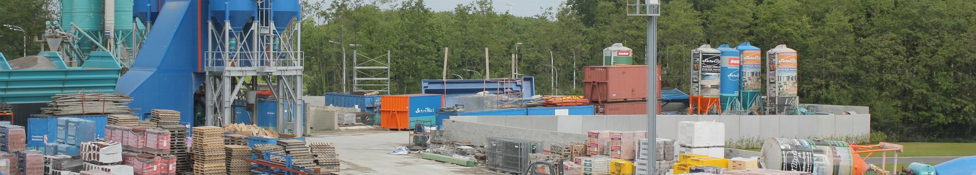 Containers terrassements mat riaux carrelage for Accessoire piscine namur